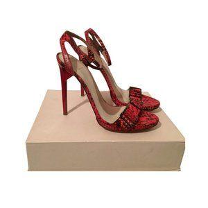NWOB Herve Leger Vancey high heel sandals shoes